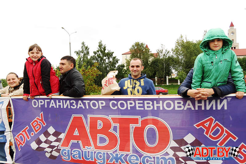 В Барановичах прошла акция Спортсмены- за безопасность дорожного движения