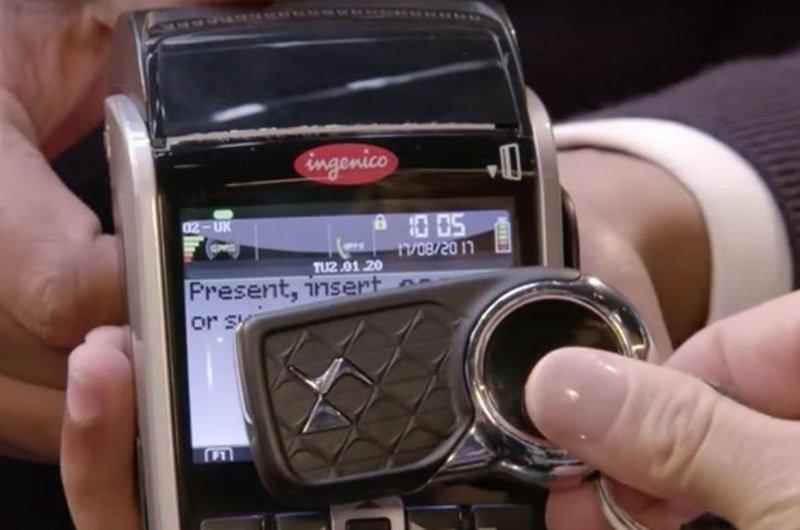 Ключами от Citroen можно расплатиться за покупки