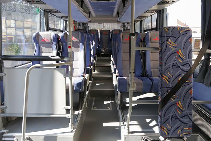 Новинка от МАЗ. Автобус с местом для колясочников