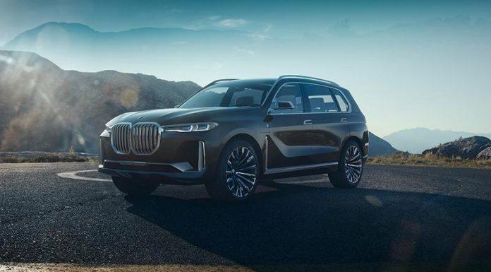 Прототип BMW X7 оказался шестиместным гибридом