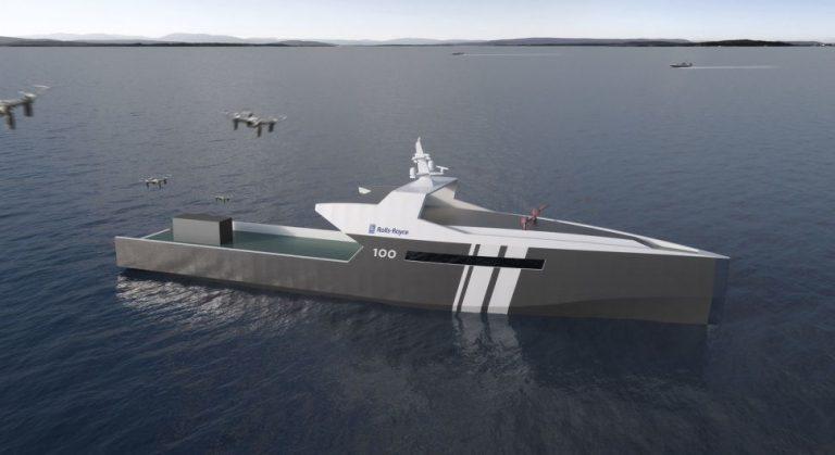 Rolls-Royce начала разработку беспилотных военных кораблей