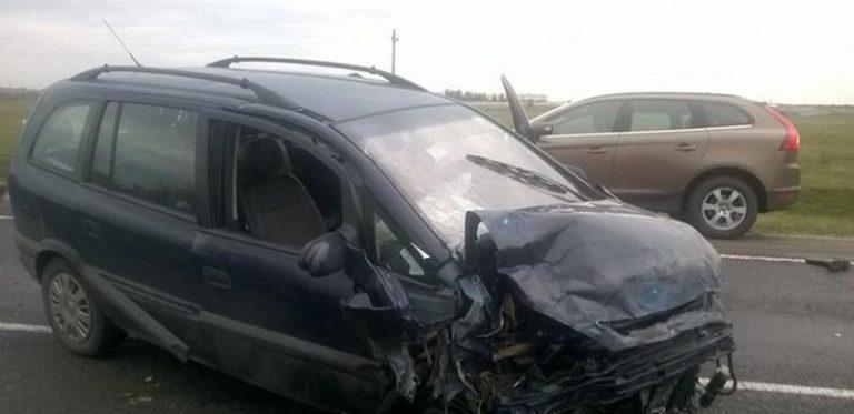 В Ольшанах в результате лобового столкновения пострадали 4 человека