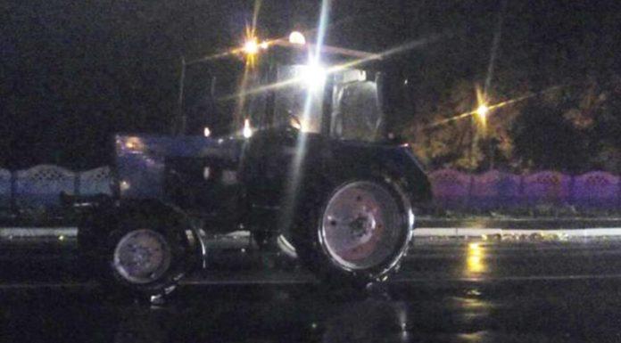 В Столине трактор сбил пешехода