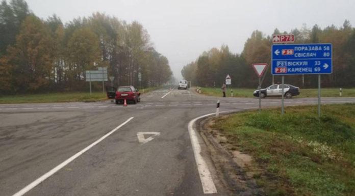 В Пружанском районе перевернулся микроавтобус с пассажирами