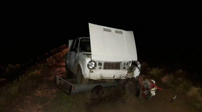 В Полоцком районе под колесами «Жигулей» погиб водитель мотоблока