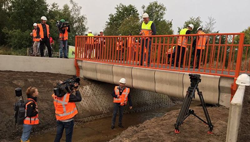 В Нидерландах появился 3D мост
