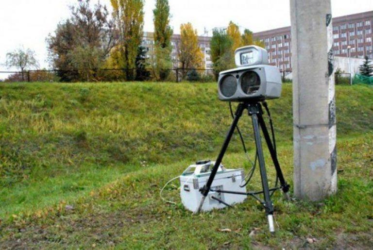 Расположение датчиков контроля скорости в октябре