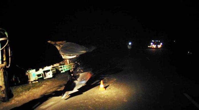 В Слуцком районе автомобиль «Тойота» столкнулся с трактором с плугами
