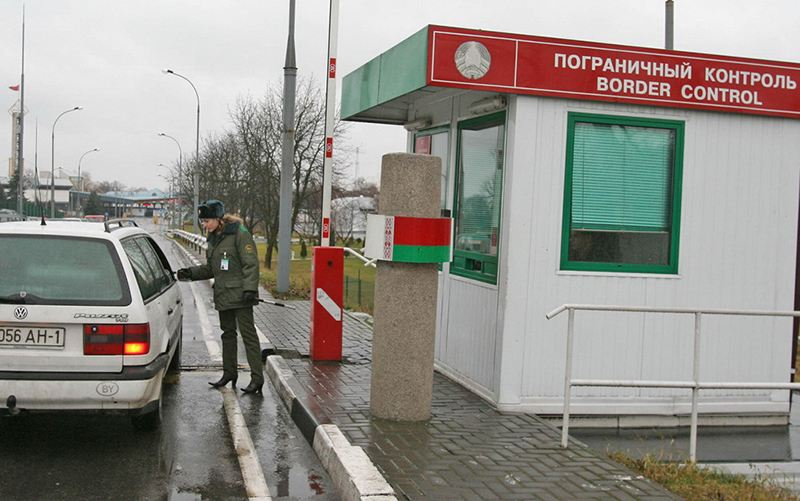 Транспортный поток через белорусско-литовскую границу вырос