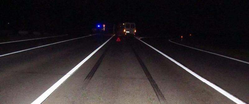 В Узденском районе микроавтобус насмерть сбил пешехода