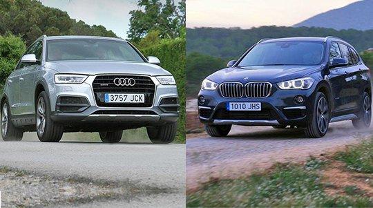 BMW X1 и Audi Q3