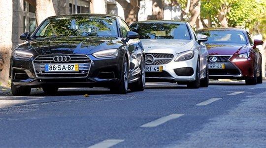 Audi A5 Coupe, Mercedes-Benz C Coupe и Lexus RC 300h: купе для жизни