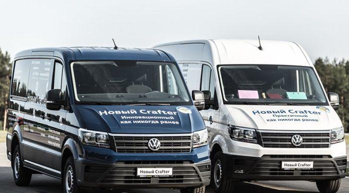 Volkswagen в Беларуси представил новый Crafter