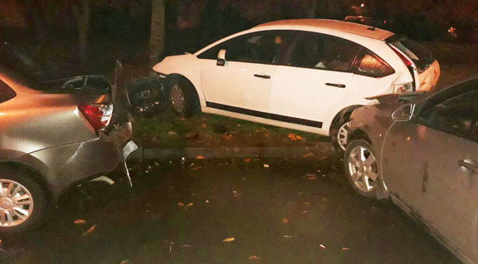 В Минске пьяный водитель повредил 5 автомобилей