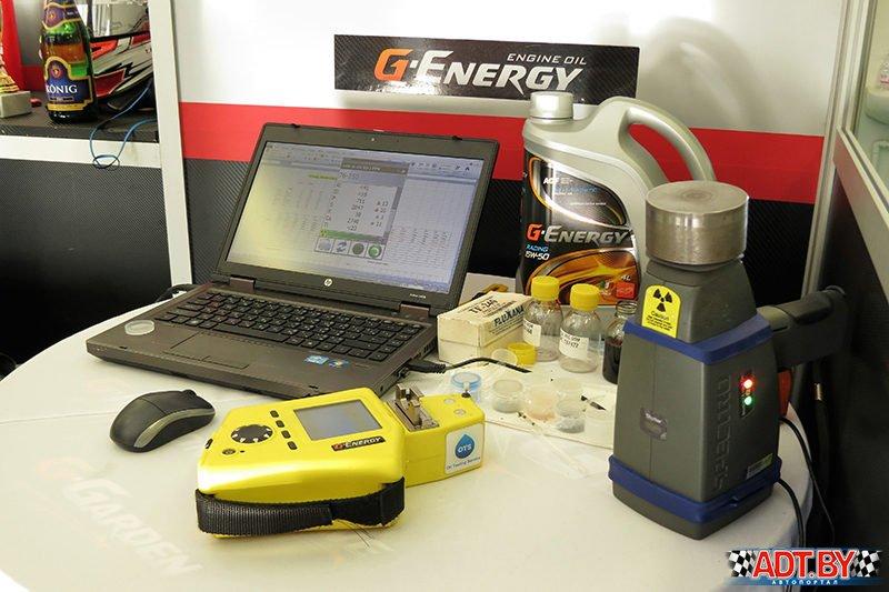 G-Energy тестирует Hungaroring
