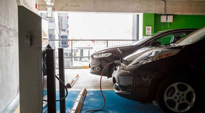 В ТРЦ Galleria Minsk появилась бесплатная быстрая заправка для электромобилей
