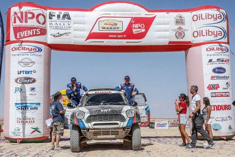 Россияне взяли пятое место на этапе Кубка мира по ралли-рейдам в Марокко