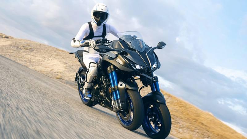 YAMAHA представила сверхустойчивый мотоцикл