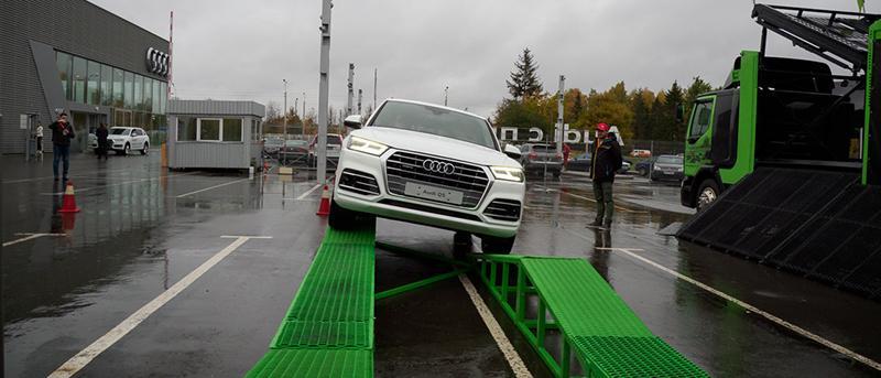 В Минске прошел Audi Quattro Day