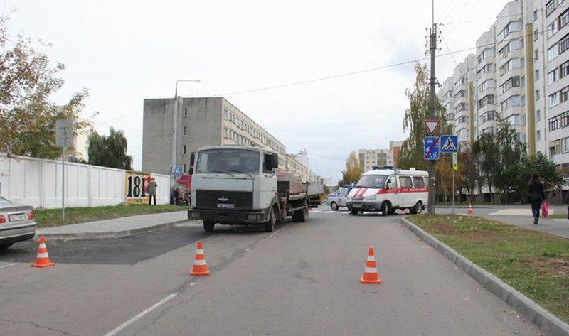 """В Пружанском районе """"МАЗ"""" насмерть сбил велосипедистку"""
