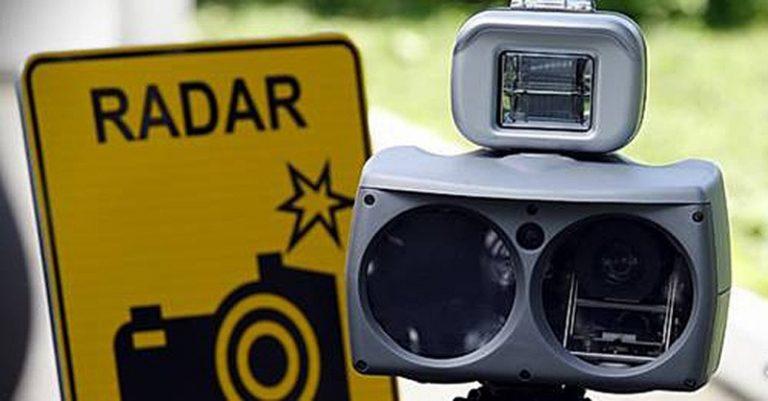 Размещение мобильных датчиков контроля скорости в ноябре