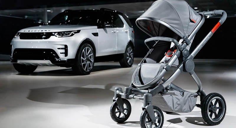 Land Rover выведет на рынок детскую коляску