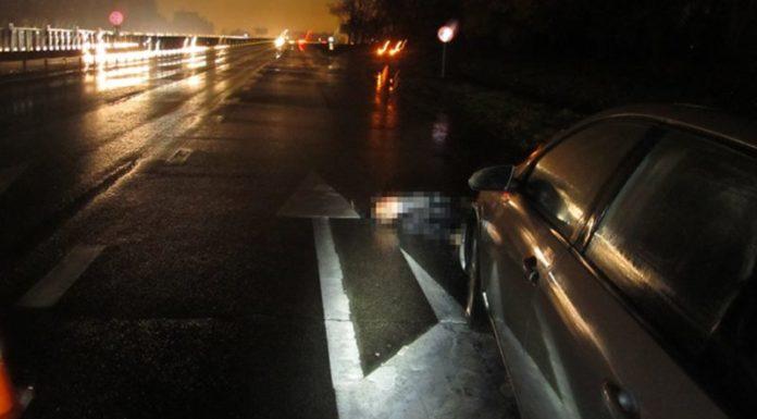 Вблизи агрогородка Сеница пешехода дважды сбили 2 автомобиля