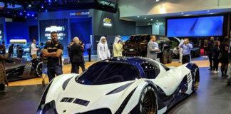 В Дубае состоялась презентация гиперкара Devel Sixteen