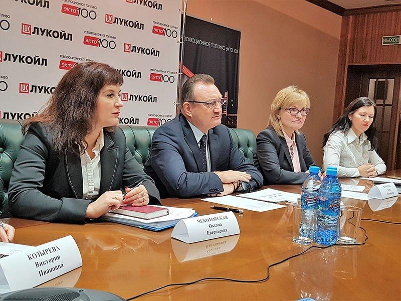 Руководство «Лукойла» в Беларуси провело пресс-конференцию