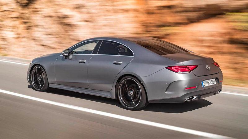 Новый Mercedes CLS примерил брутальный стиль