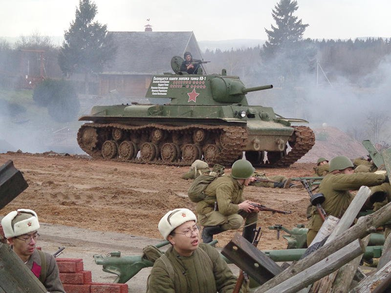 """""""День артиллериста"""" прошел на ИКК """"Линия Сталина"""""""