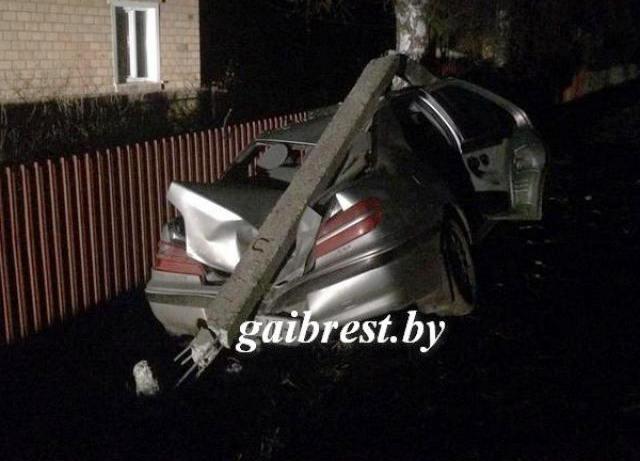 В Брестской области нетрезвый водитель совершил смертельное ДТП