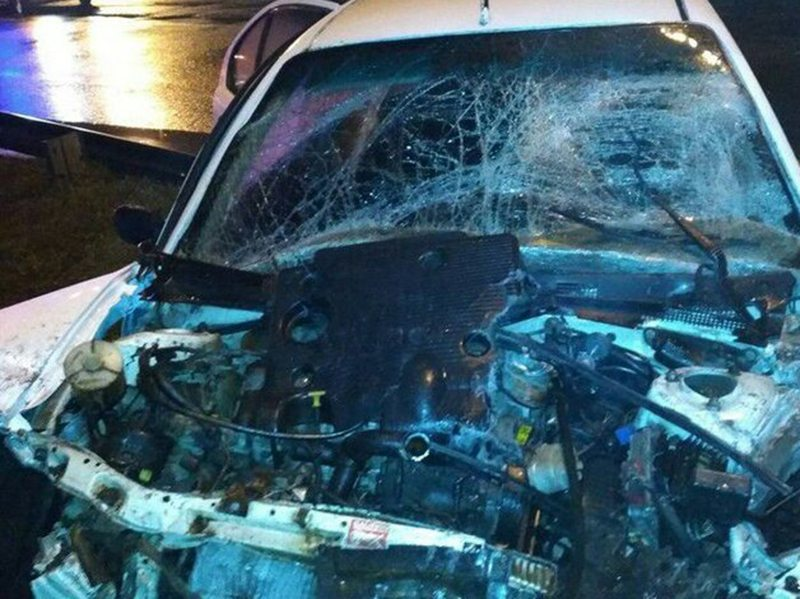 Водитель автомобиля «Ровер» погиб в ДТП на МКАД