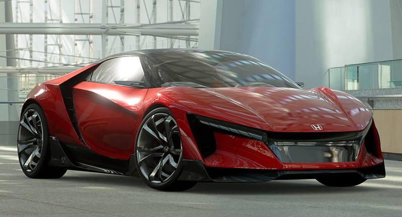 Младший брат Honda NSX объявился в Gran Turismo