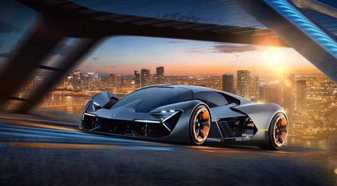 Lamborghini показал суперкар будущего