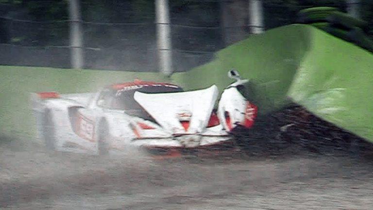 Ferrari за 1,5 миллиона евро прошел незапланированный краш-тест