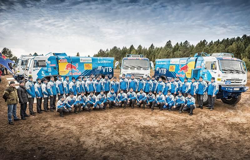 «КАМАЗ-мастер» взял курс на ралли «Дакар-2018»