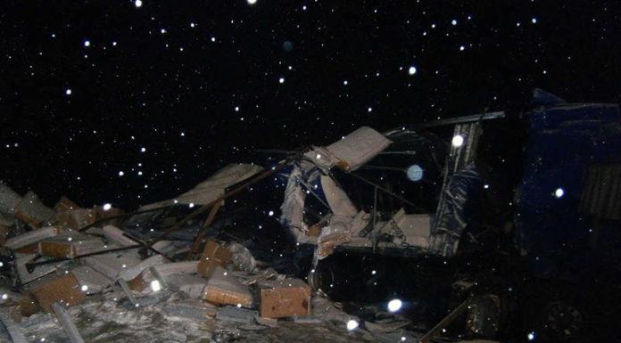 Лобовое столкновение двух грузовиков произошло в Минской области