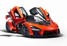 McLaren увековечил имя Айртона Сенны суперкаром