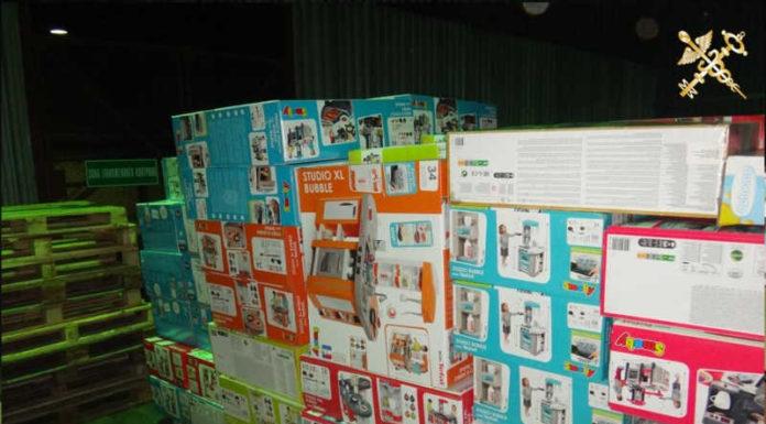 В «Григоровщине» конфисковали детские наборы и оснащение для магазина