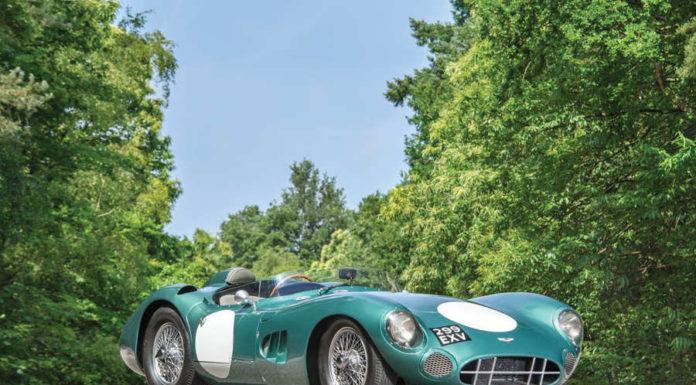 гоночный Aston Martin DBR1 1959 года
