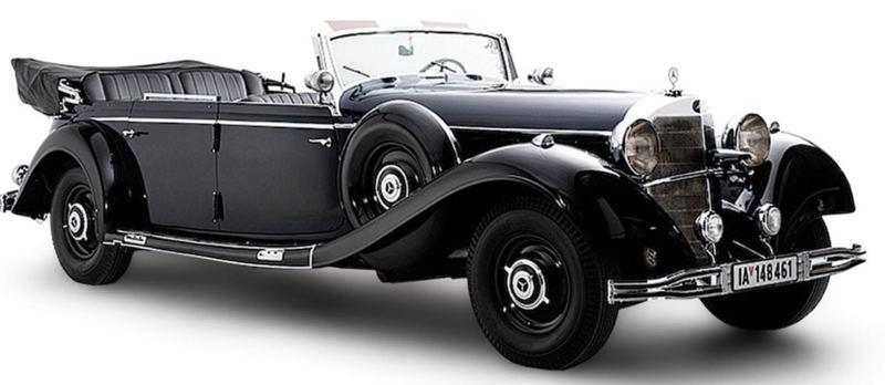 На аукционе продадут парадный лимузин Гитлера