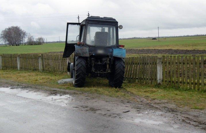 В Брестской области велосипедистка попала под колеса трактора
