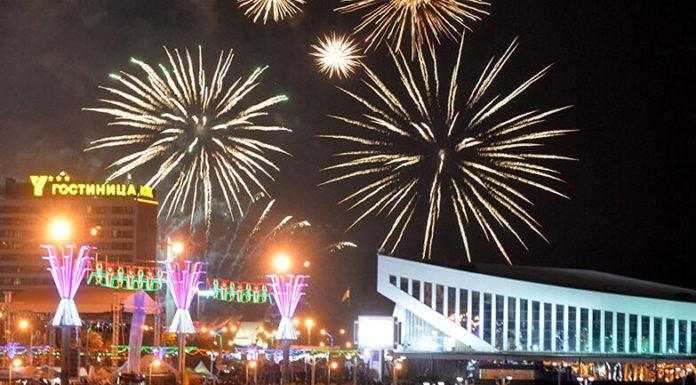 Ограничение движения в Минске в Новогоднюю ночь