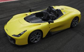 Dallara построил спорткар без дверей