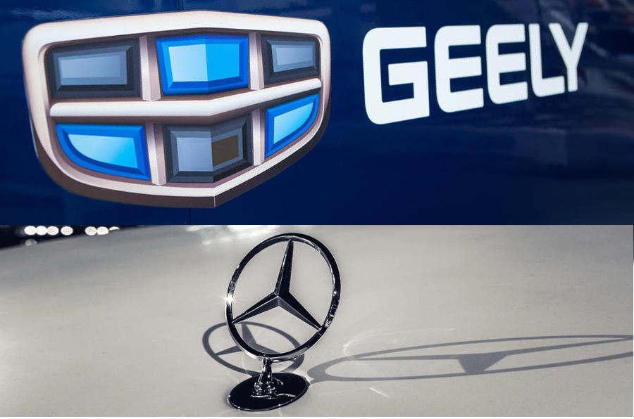 СМИ Китая: Geely стал совладельцем Mercedes-Benz