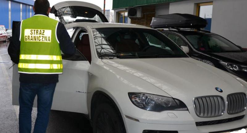 Польские пограничники изъяли BMW X6