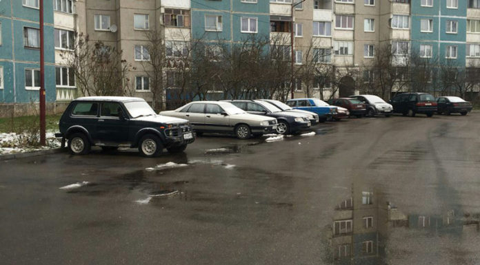 В Гродно хулиганы прокололи шины у 20 автомобилей за ночь