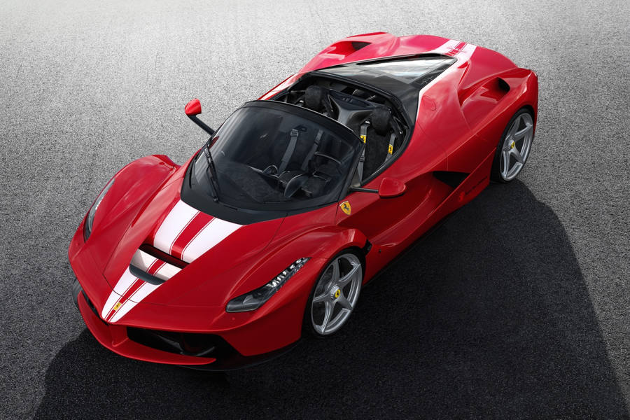 суперкар Ferrari LaFerrari Aperta