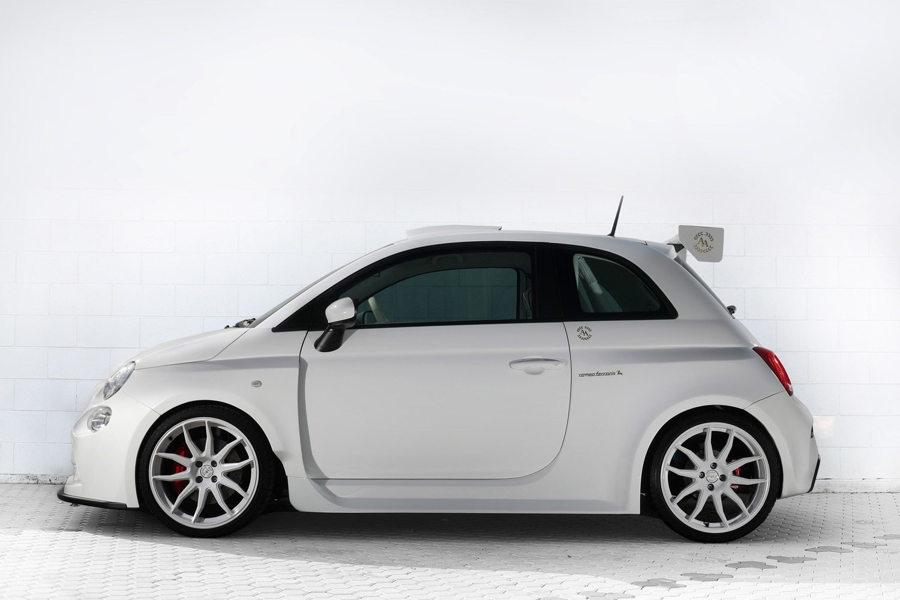 тюнинг-ателье Romeo Ferraris построило уникальный Fiat 500